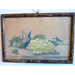 K. Norbert: Zátišie s ovocím a džbánom