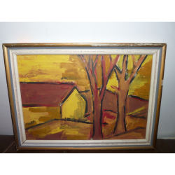 neznámy: Žltý domček