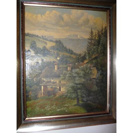 J. Domler: Domček v údolí