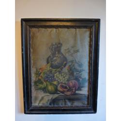 neznámy: Zátišie s džbánom a ovocím