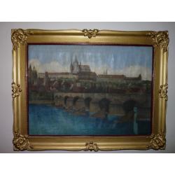 neznámy: Praha - Karlov most a Hradčany