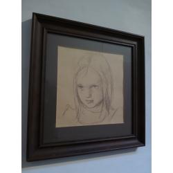 neznámy: Portrét dievčatka