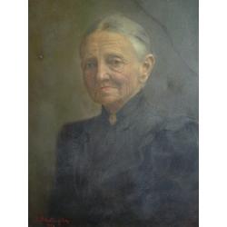 Dominik Skutecký (pripisované): Portrét staršej ženy