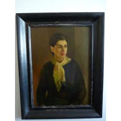 Ján Mudroch (pripisované): Portrét mladej ženy