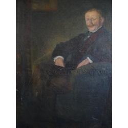 Maximilián Kurth: Portrét staršieho muža
