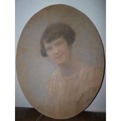 Konštantín Kővári(Kačmarik): Portrét ženy