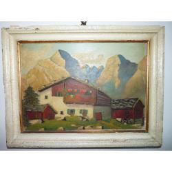 neznámy: Alpský dom