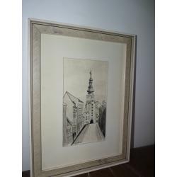 Kováčik: Michalská veža Bratislava