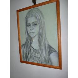 neznámy: Portrét dievčaťa