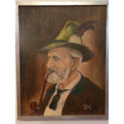 neznámy: Muž s fajkou