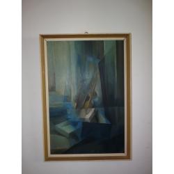 Ester Šimerová Martinčeková (pripisované): Geometrická kompozícia