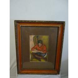 Ján Mudroch (pripisované): Žena čítajúca knihu