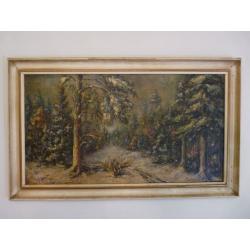 Karol Sovánka (pripisované): Pohľad do lesa