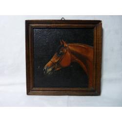 neznámy: Hlava osedlaného koníka