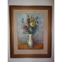 Ján Mudroch (pripisované): Kytica poľných kvetov vo váze