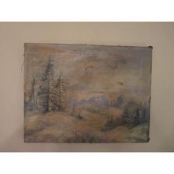 Peter Július Kern (pripisované): Horská krajinka