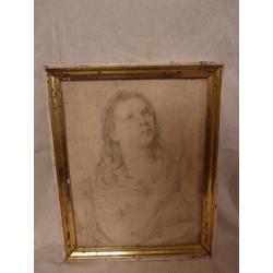 Ján Mudroch (pripisované): portrét ženy