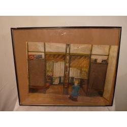 Július Koller (pripisované): V detskej izbe