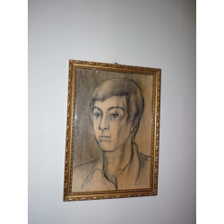 Imrich Weiner Kráľ (pripisované): Portrét chlapca
