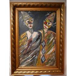 Vincent Hložník (pripisované): Dvaja klauni