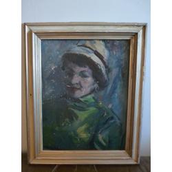 František Reichentál (pripisované): Portrét manželky