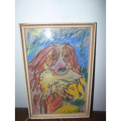 Arnold Peter Weisz-Kubínčan (pripisované): Poľovnícky pes