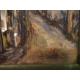 Janko Alexy (pripisované): Pohľad z Kapucínskej ulice