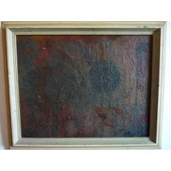 Rudolf Krivoš (pripisované): Abstraktná kompozícia