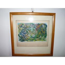 Ester Šimerová Martinčeková (pripisované): Farebná kompozícia