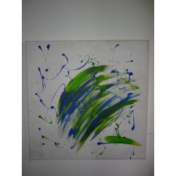 Július Koller (pripisované): Farebná kompozícia