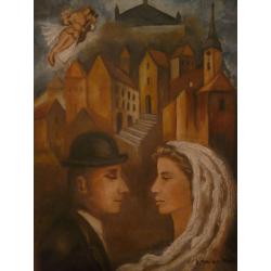 Imrich Weiner Kráľ (pripisované): Židovská svadba