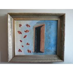 neznámy: Motýle pred otvorenými dverami
