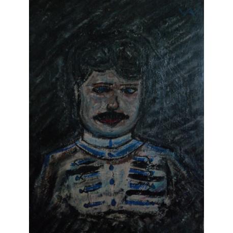 Arnold Peter Weisz-Kubínčan (pripisované): Jazdecký dôstojník