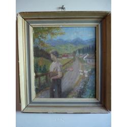 Guoth: Žena pred horskou dedinou