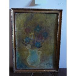 J. Varga: Zátišie s kvetmi