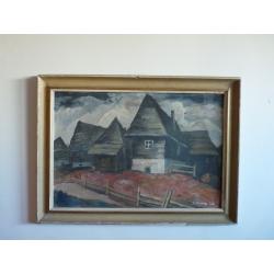 neznámy: Drevené domčeky
