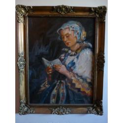 Bukovinský: Modliaca sa mladá žena
